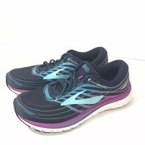 Brooks Glycerin15 Blue/Purple Cactus Sneakers